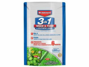 Bio advanced 704840B 3 in 1 Weed and Feed for Southern