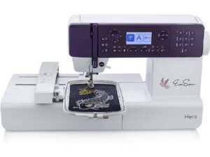 EverSewn Hero - 400-Stitch Computerized Sewing Machine, Sewing or Embroidery