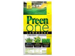 Preen 2164169 One LawnCare Weed & Feed