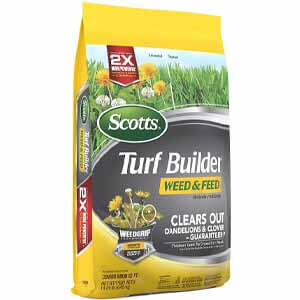 Scotts Turf Builder Weed and Feed 3, 5,000 Sq. Ft